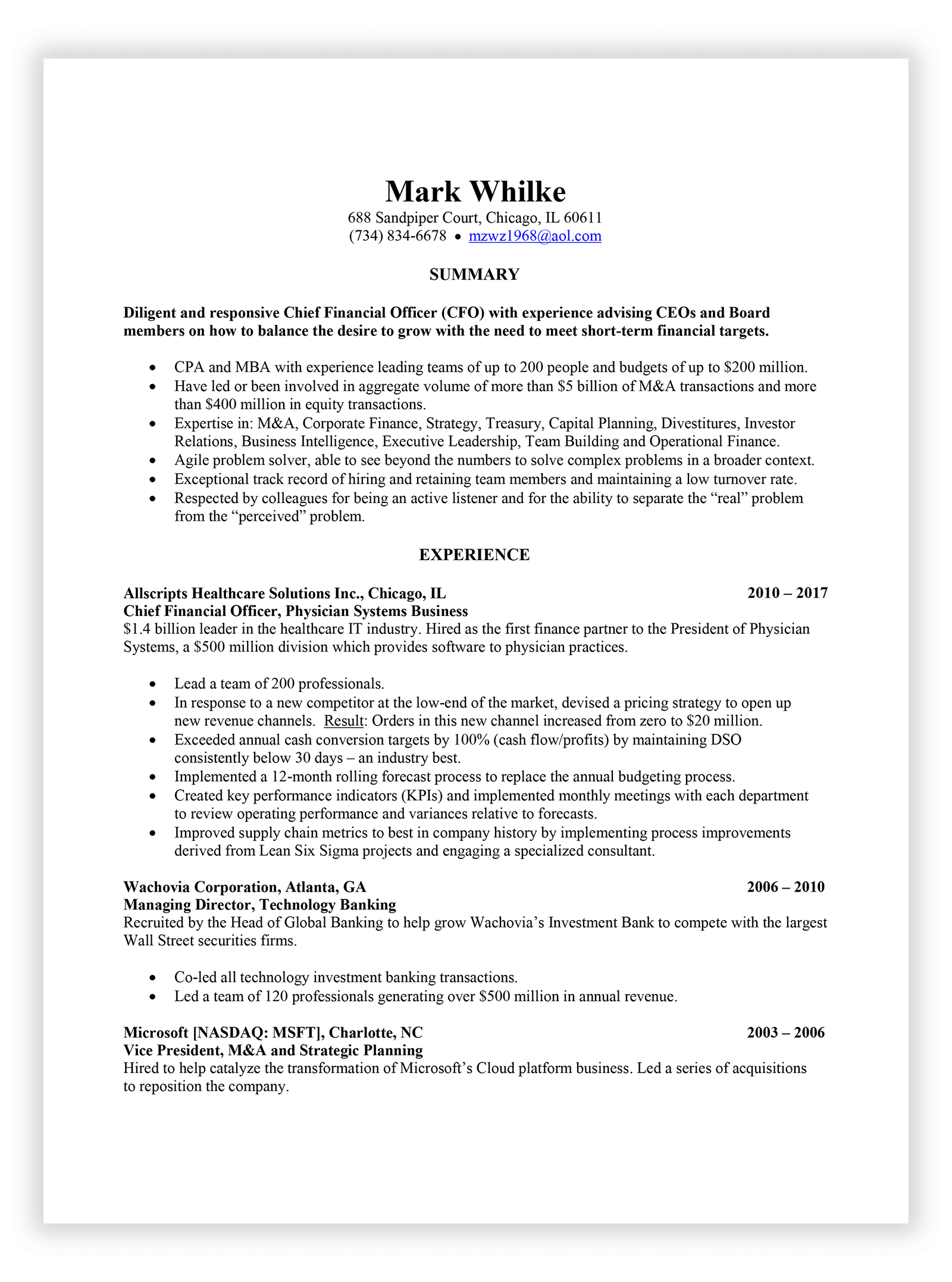 Welcome to The Resume Sage | The Resume Sage - Experienced Resume ...